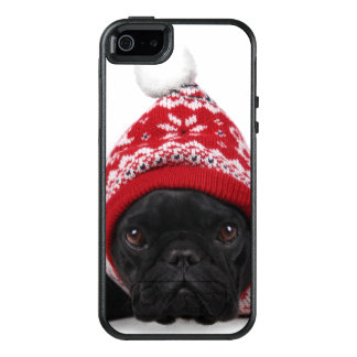 Bulldog With Hooded Sweater OtterBox iPhone 5/5s/SE Case