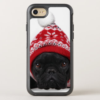 Bulldog With Hooded Sweater OtterBox Symmetry iPhone 7 Case