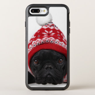 Bulldog With Hooded Sweater OtterBox Symmetry iPhone 7 Plus Case