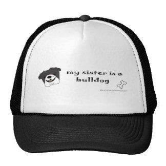 BulldogBlkSister Trucker Hat