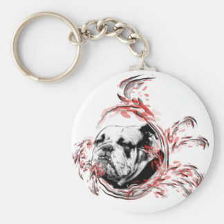bulldogge keychain
