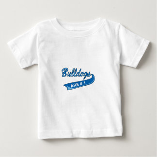 BULLDOGS ARE NUMBER ONE TEE SHIRTS