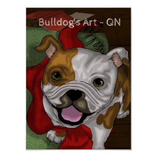 Bulldog's Art QN Poster