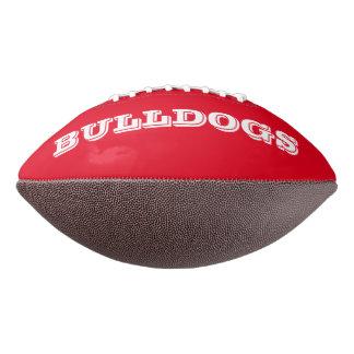 Bulldogs Custom Football
