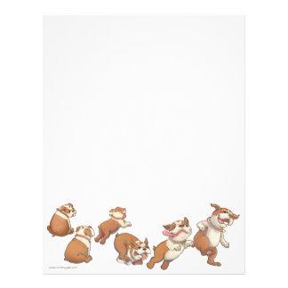 bulldogs horizontal letterhead