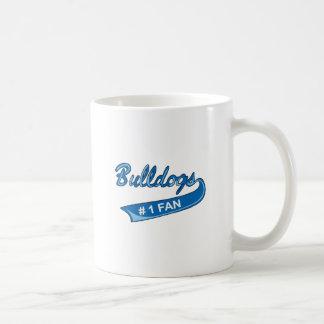 BULLDOGS NUMBER ONE FAN COFFEE MUG