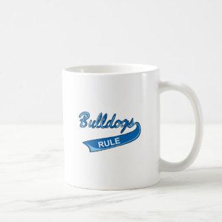 BULLDOGS RULE BASIC WHITE MUG