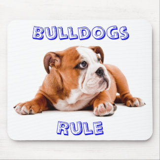 Bulldogs Rule Mousepad