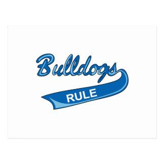 BULLDOGS RULE POSTCARD