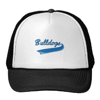 BULLDOGS SPORTS TEAM MESH HATS