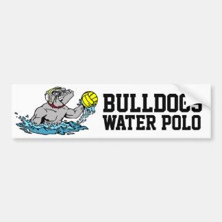 Bulldogs Water Polo Bumper Sticker