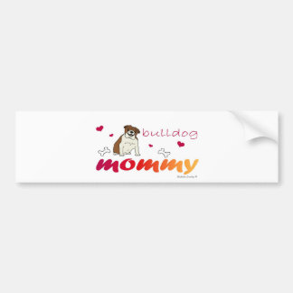 BulldogTanMommy Bumper Sticker