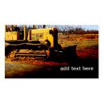 bulldozer business card templates
