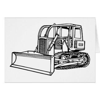 bulldozer card