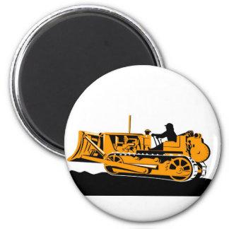 bulldozer construction equipment machinery magnet