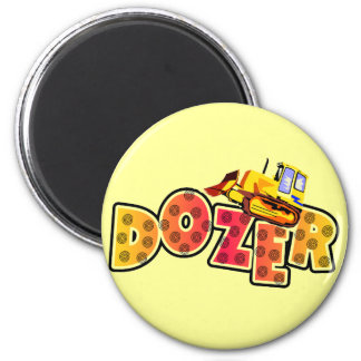 Bulldozer Tshirts and Gifts 2 Inch Round Magnet