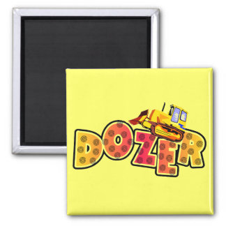 Bulldozer Tshirts and Gifts Fridge Magnet