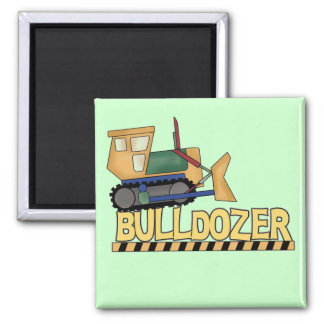 Bulldozer Tshirts and Gifts Fridge Magnets