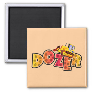 Bulldozer Tshirts and Gifts Magnets