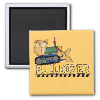 Bulldozer Tshirts and Gifts Refrigerator Magnets