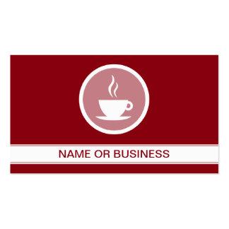 Bulle de TASSE de CAFÉ Cartes De Visite Professionnelles
