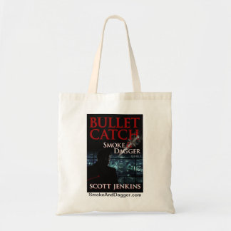Bullet Catch - Small Tote, white
