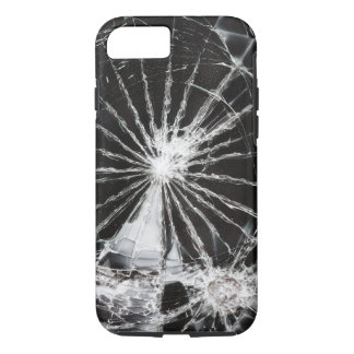 Bullet hole - shattered glass iPhone 8/7 case