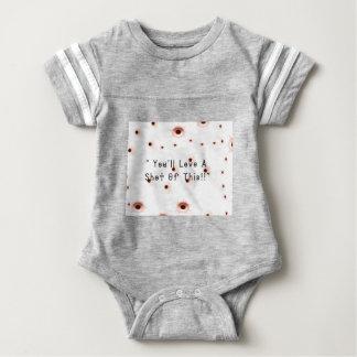 Bullet Holes Baby Bodysuit