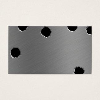 Bullet Holes Business Card