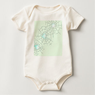 Bullet Holes in Glass Baby Bodysuit