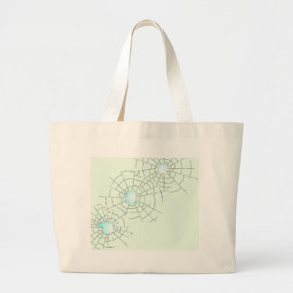 Bullet Holes in Glass Large Tote Bag