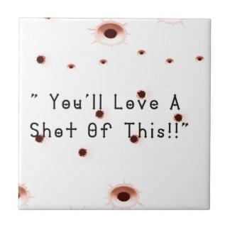 Bullet Holes Tile