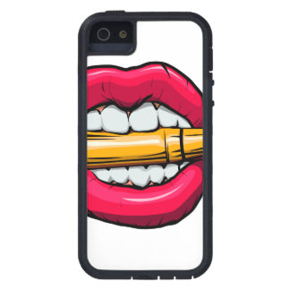 bullet in mouth. case for the iPhone 5