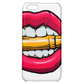 bullet in mouth. iPhone 5C cover