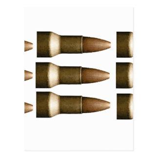 bullet rows yeah postcard