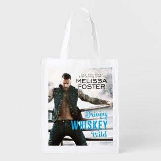 Bullet Whiskey Reusable Grocery Bag