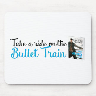 Bullet Whiskey Take A Ride Mouse Pad