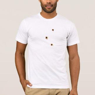 Bullet Wounds With Bullseye T-Shirt