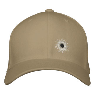 bullethole embroidered hat