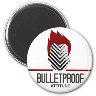 bulletproof attitude 2 inch round magnet