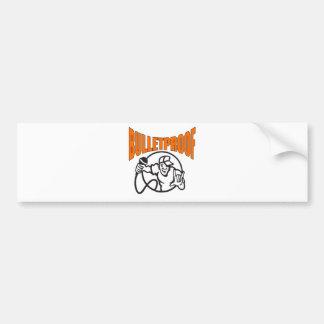 Bulletproof Logo Bumper Sticker