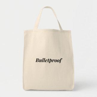 Bulletproof Tote Bag (Natural)