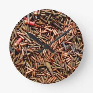 Bullets, ammunition round clock