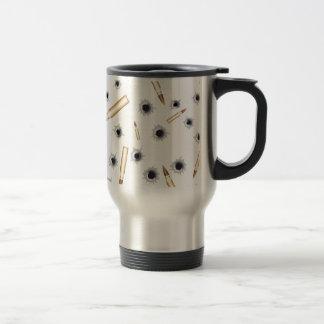 BULLETSNBULLETHOLES.png Coffee Mugs