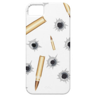 BULLETSNBULLETHOLES.png iPhone 5 Case