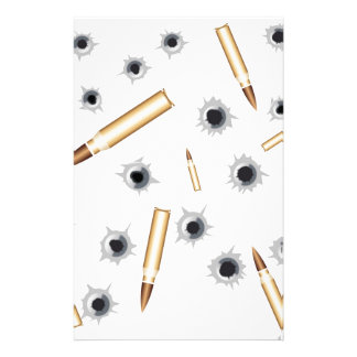 BULLETSNBULLETHOLES.png Stationery Paper