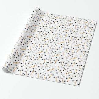 BULLETSNBULLETHOLES.png Wrapping Paper