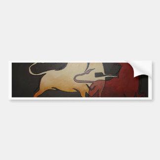 Bullfight 1 bumper sticker
