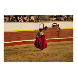 Bullfighting in Portugal Poster