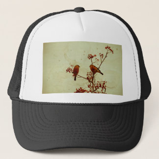 Bullfinch on Rowan Textured 2 Trucker Hat
